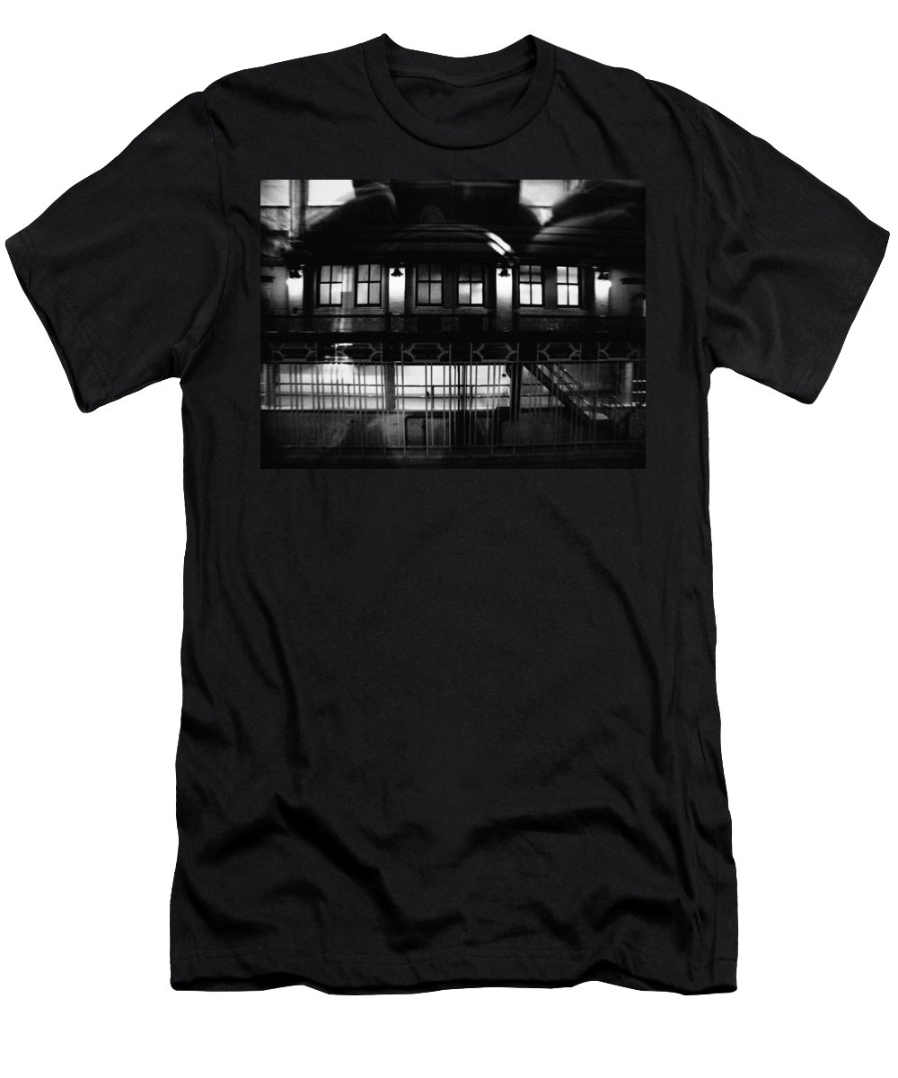 Chicago Men's T-Shirt (Athletic Fit) featuring the photograph Historic Water Tower District by Kyle Hanson