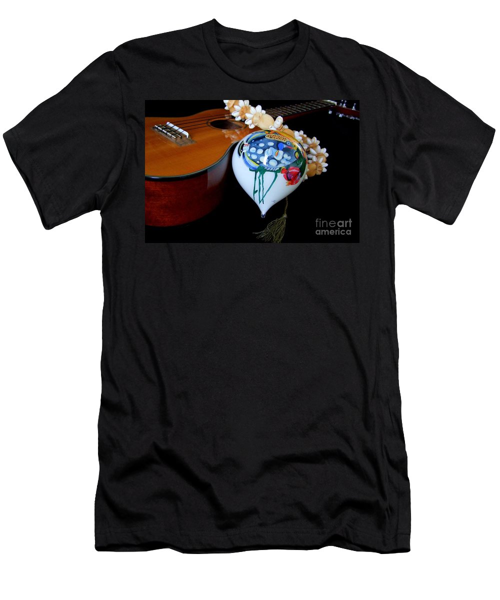 Christmas Men's T-Shirt (Athletic Fit) featuring the photograph Holiday Medley by Mary Deal