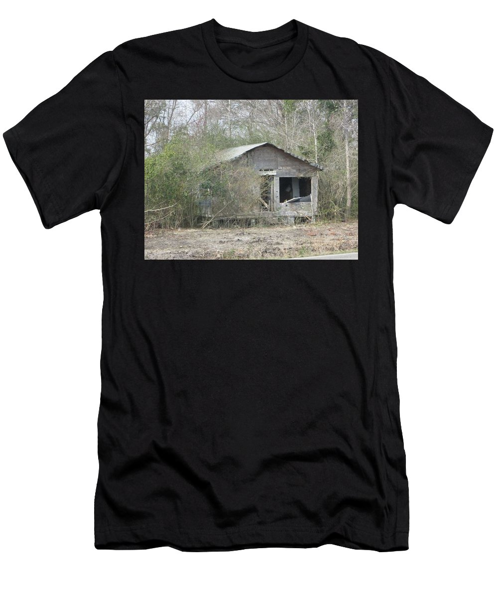 Old Men's T-Shirt (Athletic Fit) featuring the photograph Home From Long Gone Era by Jeanette Conrad