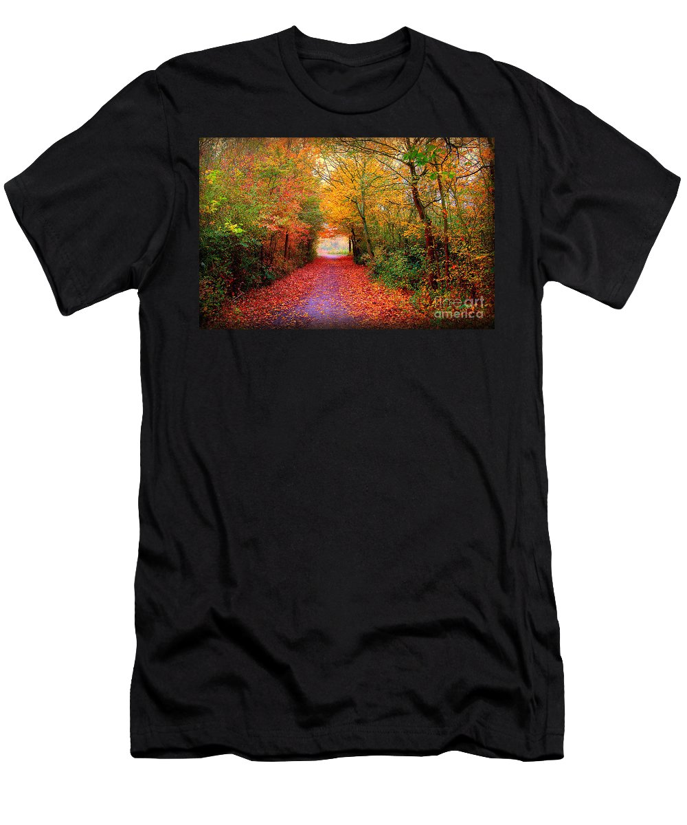Autumn Men's T-Shirt (Athletic Fit) featuring the photograph Hope by Jacky Gerritsen