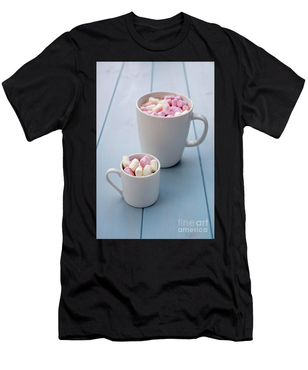 Hot Chocolate Men's T-Shirt (Athletic Fit) featuring the photograph A Sweet Tooth by Benjamin Harte