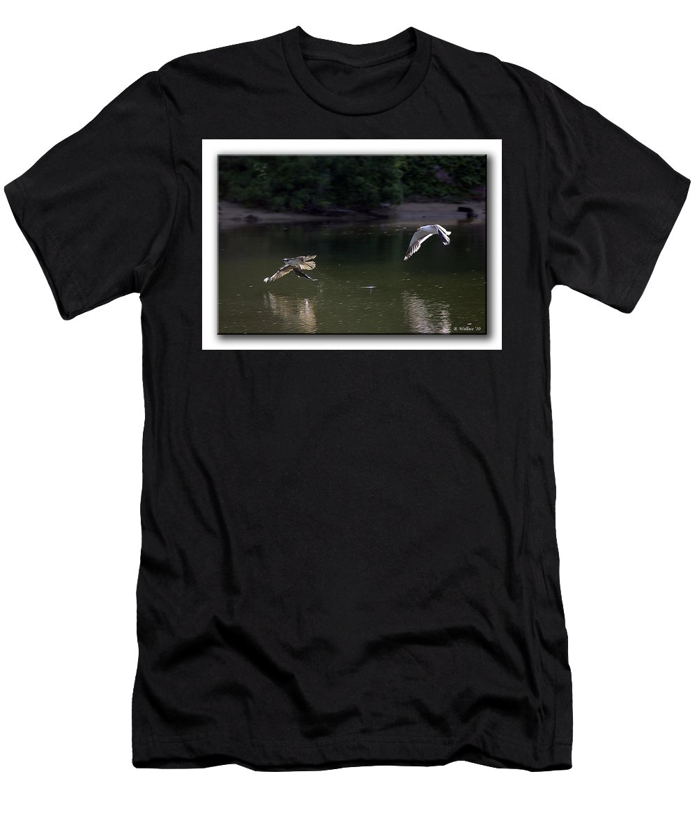 2d Men's T-Shirt (Athletic Fit) featuring the photograph Hot Pursuit by Brian Wallace