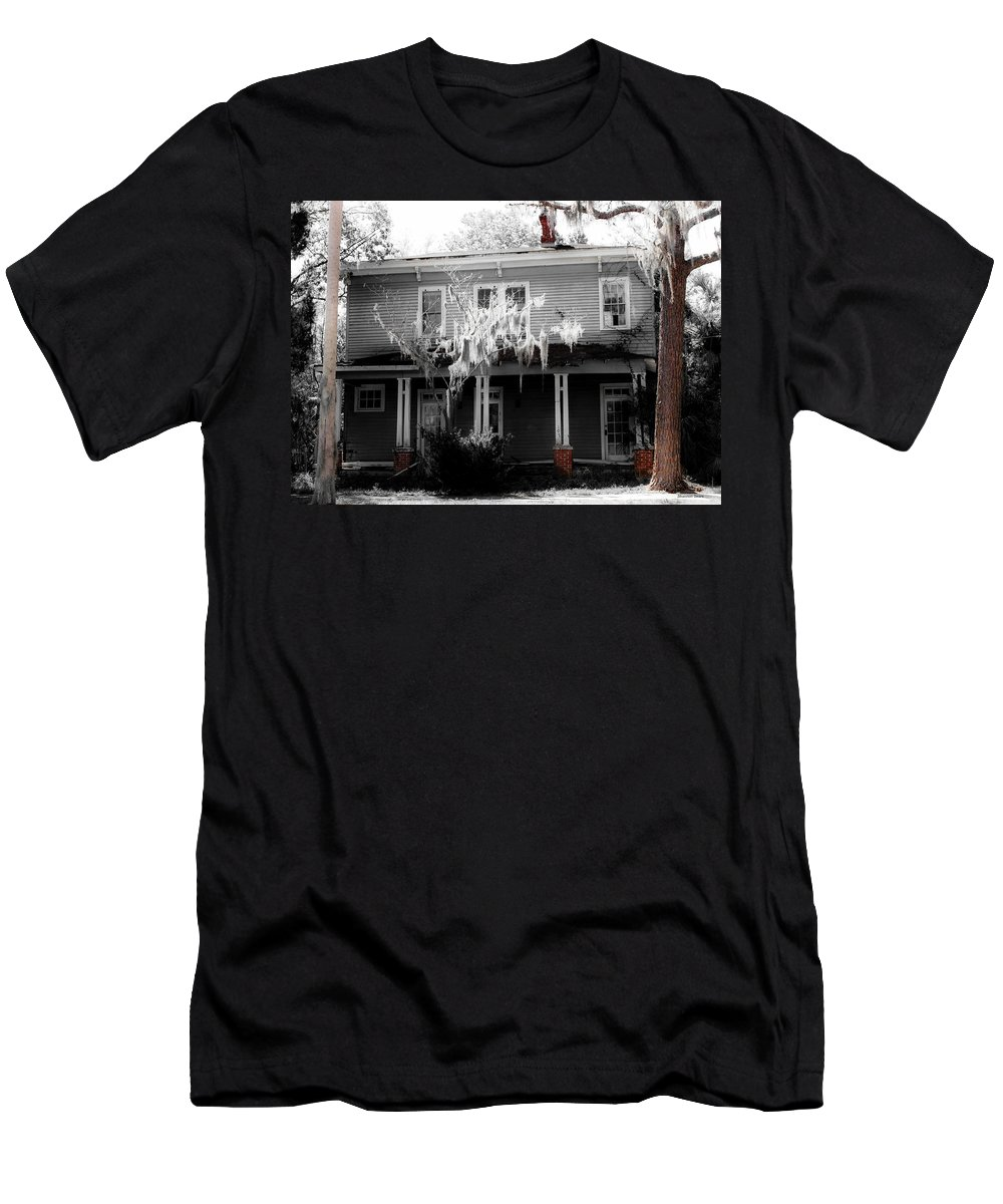 Shannon Men's T-Shirt (Athletic Fit) featuring the photograph House In The Middle by Shannon Sears