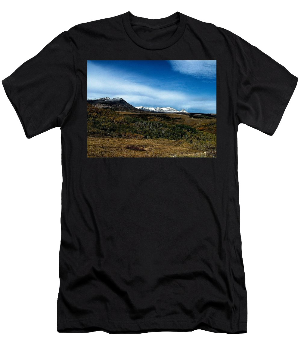 Hudson Bay Divide Men's T-Shirt (Athletic Fit) featuring the photograph Hudson Bay Divide by Tracey Vivar