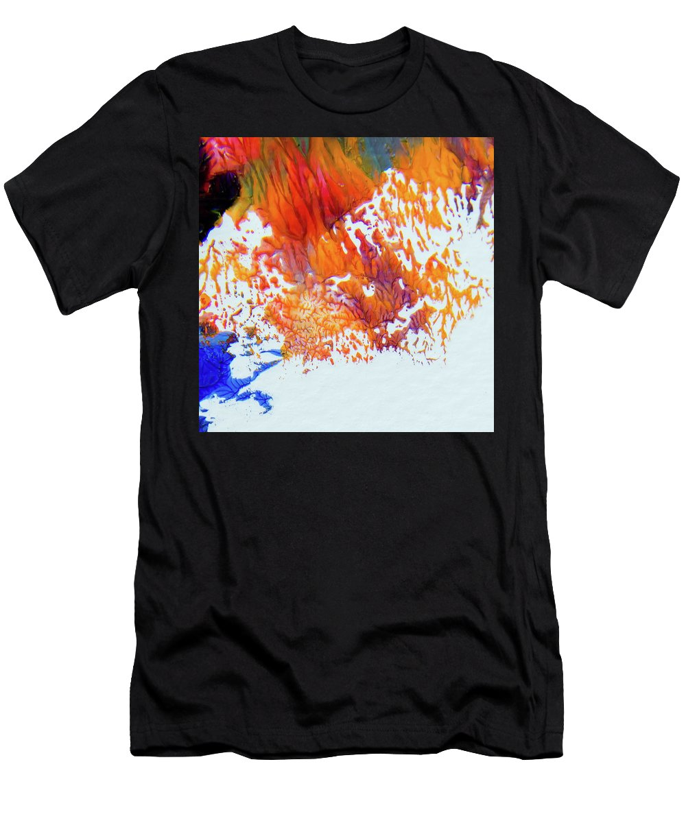 Art Men's T-Shirt (Athletic Fit) featuring the painting Humor6 by Deb Breton