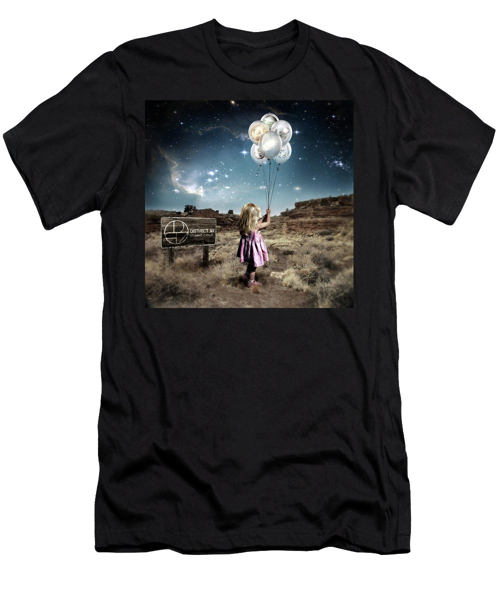 T-Shirt featuring the digital art Hybrid Child by District 97