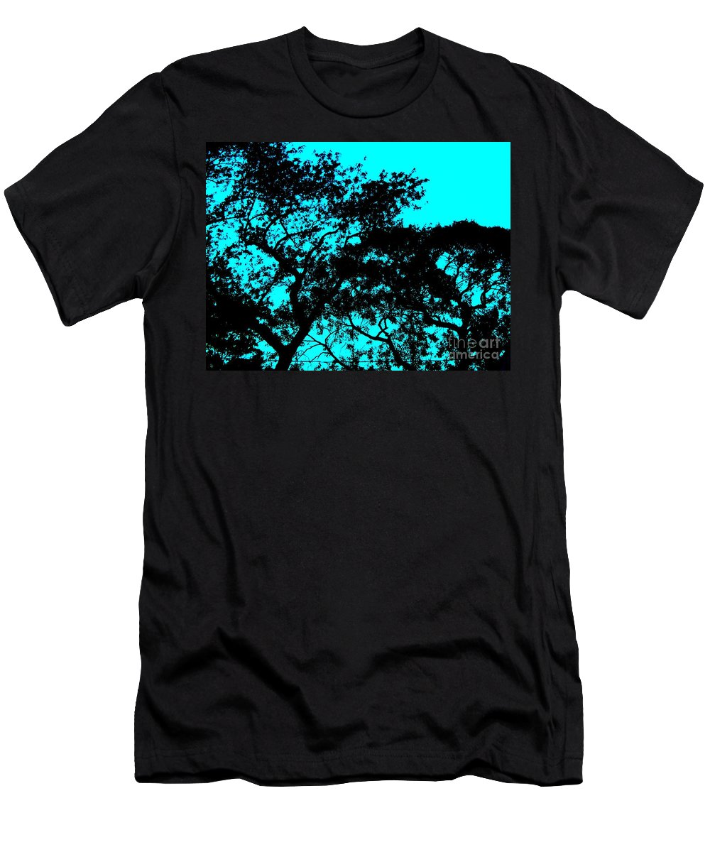 I Think That I Shall Never See A Poem Lovely As A Tree Men's T-Shirt (Athletic Fit) featuring the photograph I Think That I Shall Never See A Poem Lovely As A Tree by Eric Schiabor