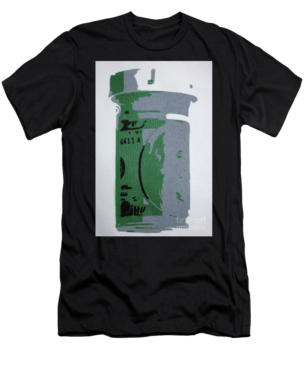 Money Men's T-Shirt (Athletic Fit) featuring the painting iBenprofen by Art By Art