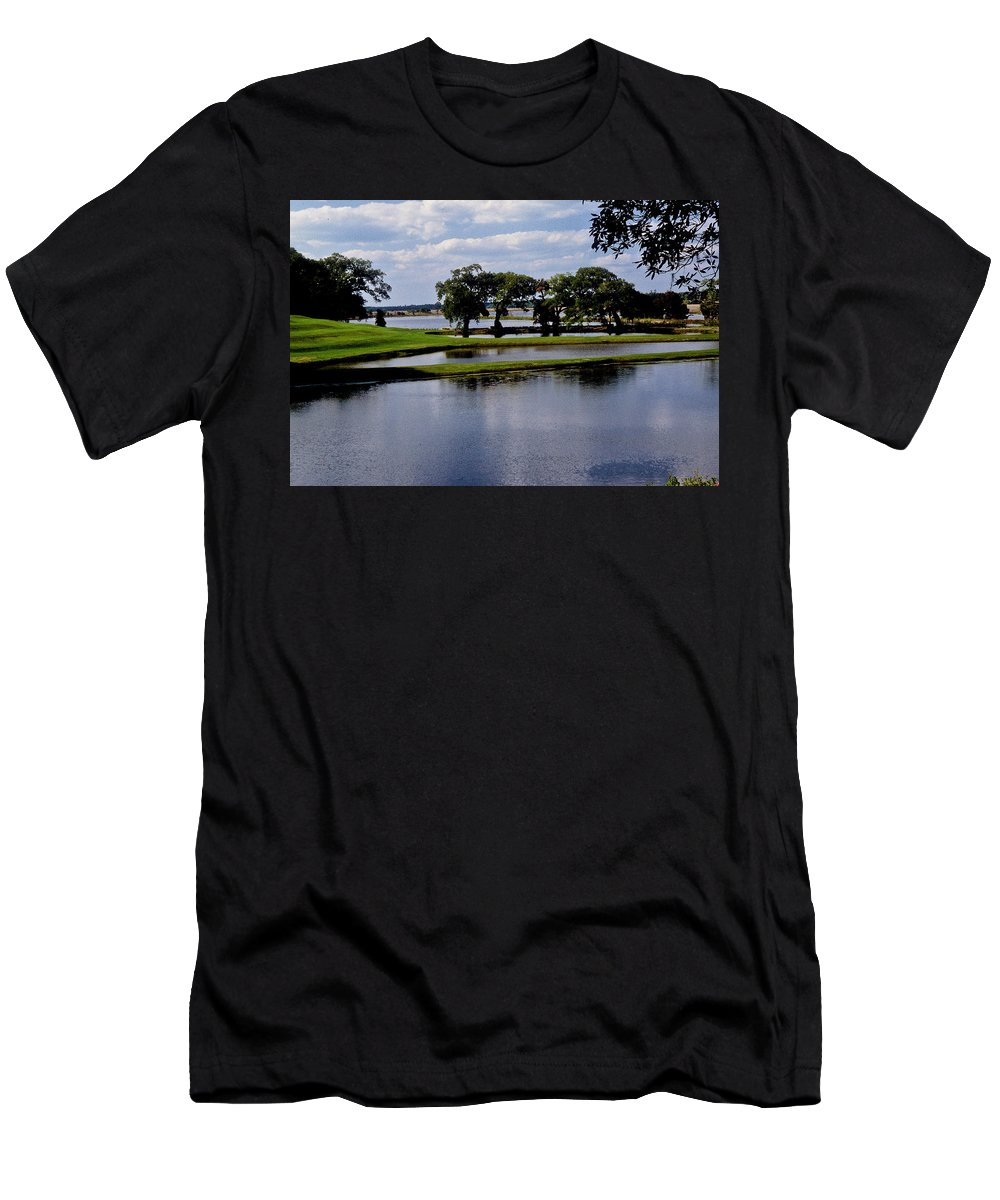 Lake Men's T-Shirt (Athletic Fit) featuring the photograph Charleston South Carolina by Gary Wonning