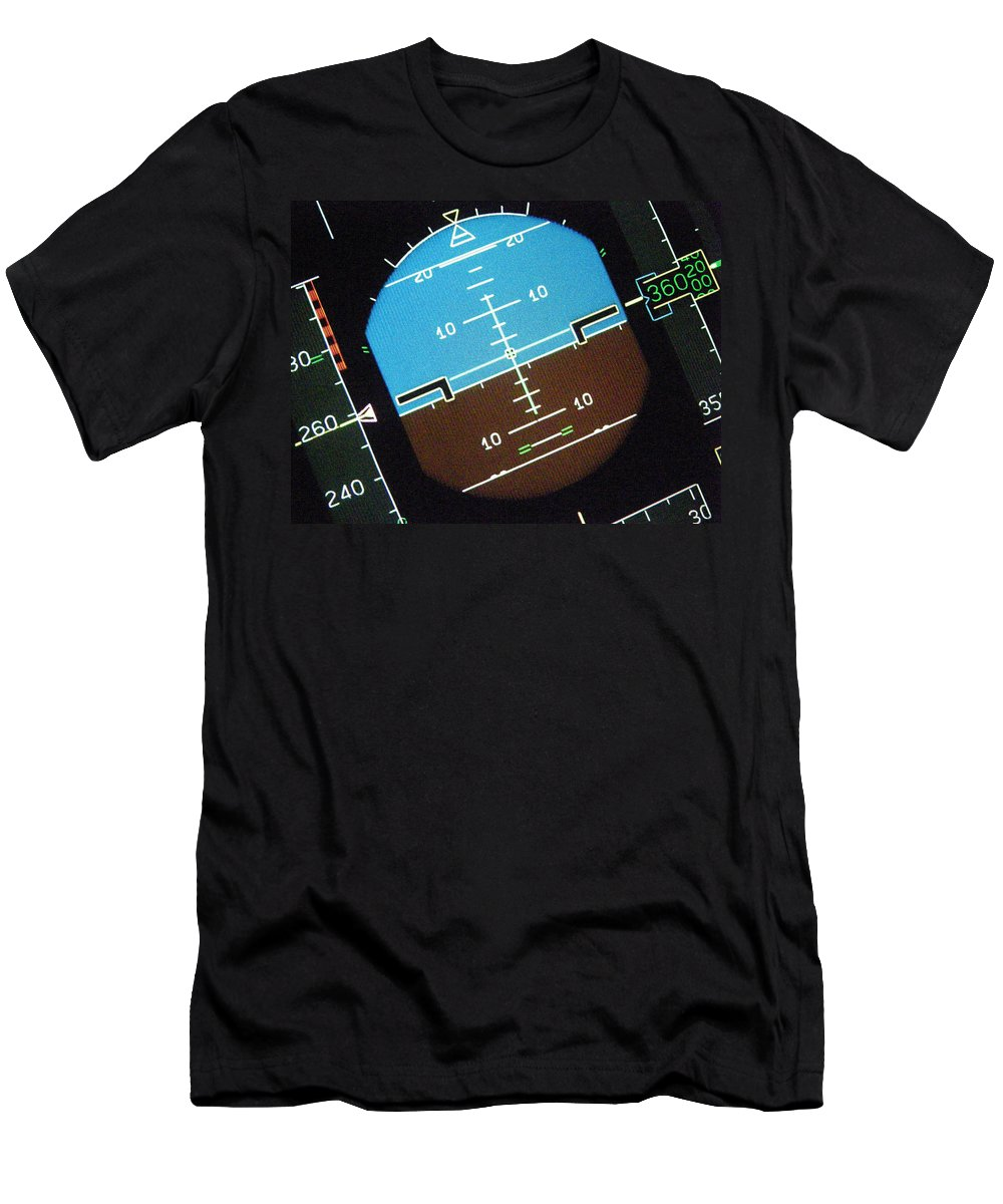 Aviation Art Men's T-Shirt (Athletic Fit) featuring the photograph I'm So Confused..... by Strato ThreeSIXTYFive