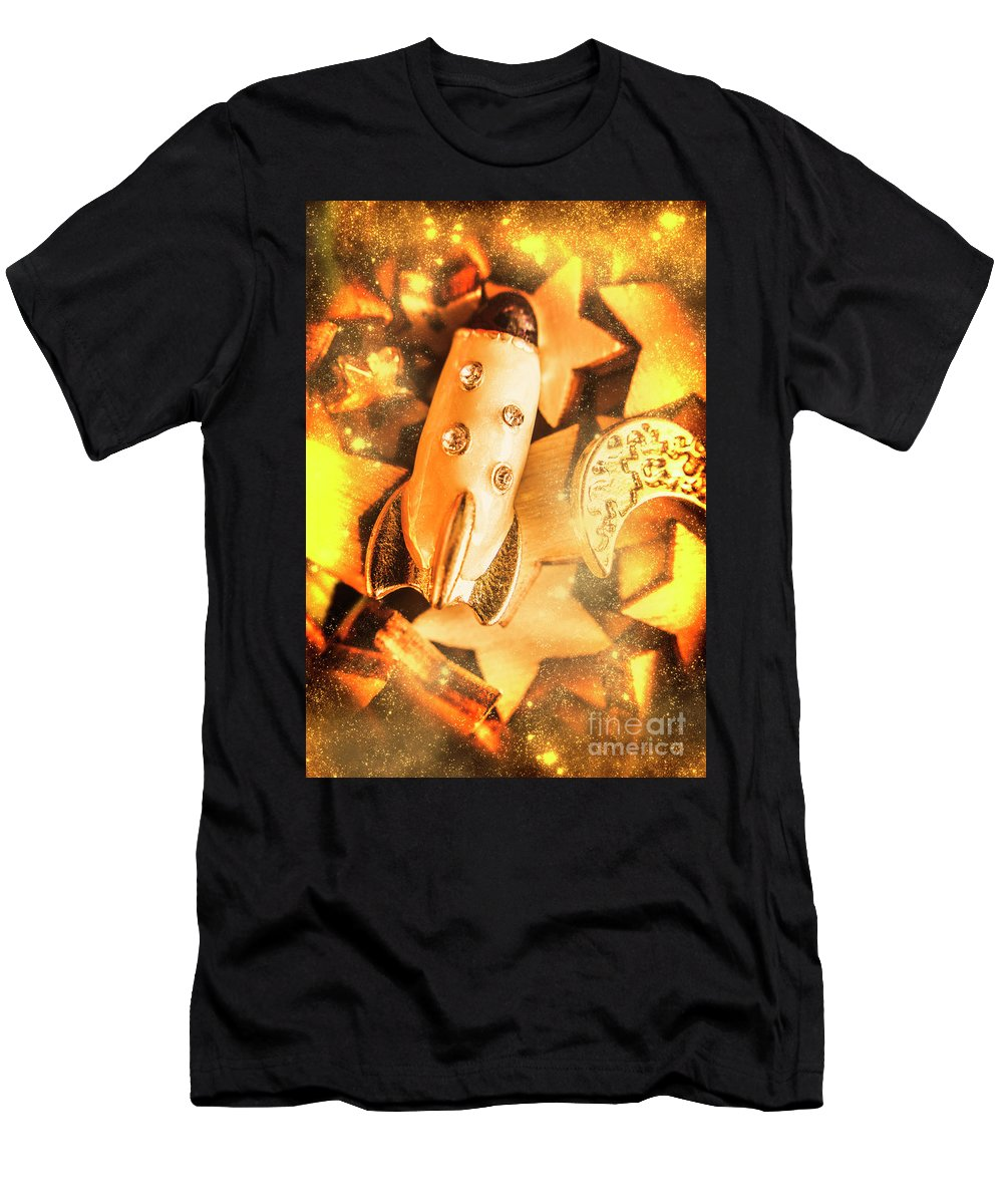 Adventure Men's T-Shirt (Athletic Fit) featuring the photograph Imaginary Adventure by Jorgo Photography - Wall Art Gallery