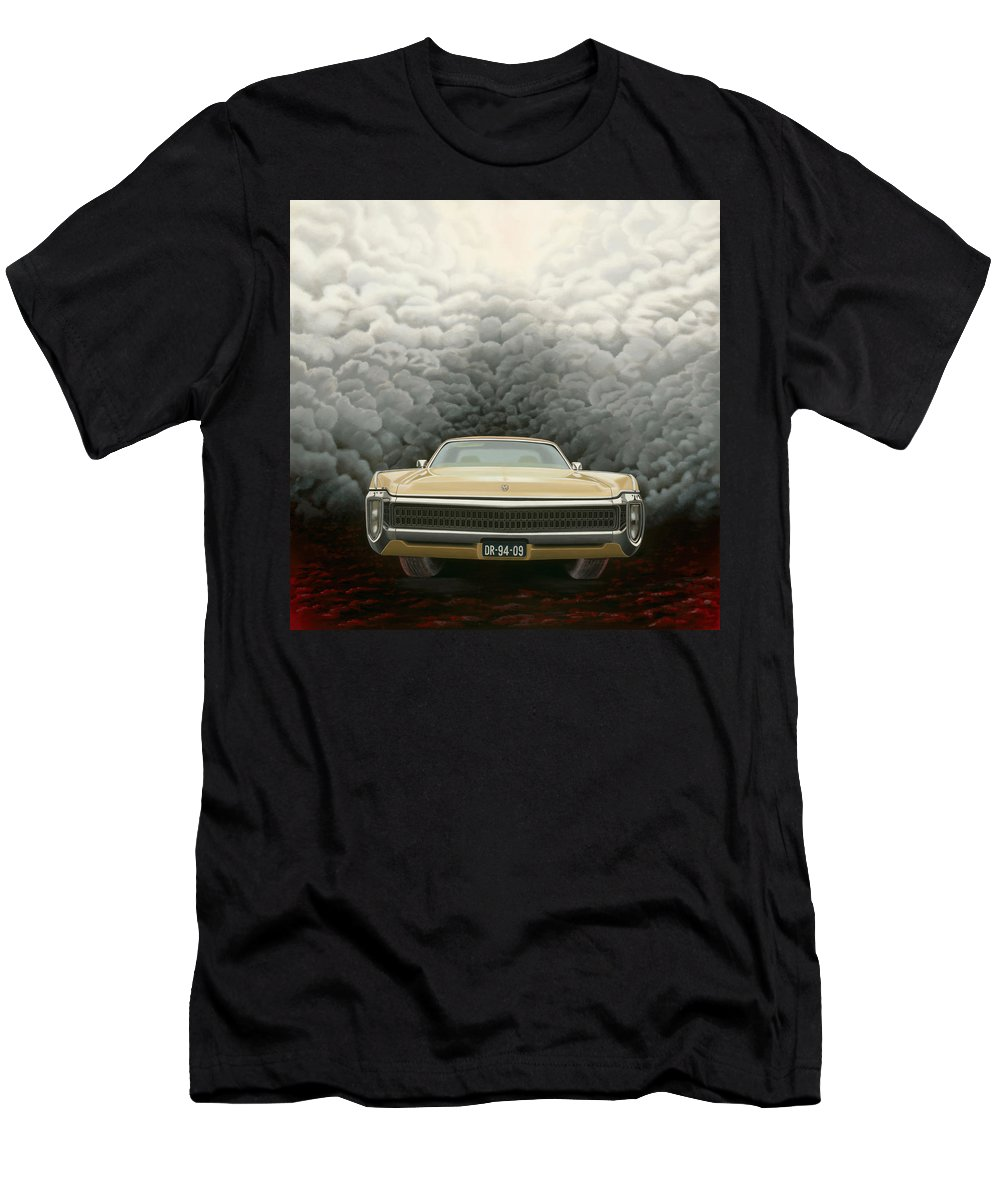 Surreal Men's T-Shirt (Athletic Fit) featuring the painting Imperial by Patricia Van Lubeck