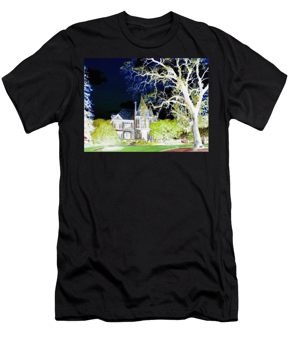 Impressions Men's T-Shirt (Athletic Fit) featuring the digital art Impressions 9 by Will Borden