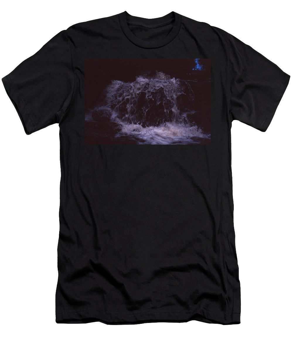 Bahia Men's T-Shirt (Athletic Fit) featuring the photograph In A Bahian Waterfall by Patrick Klauss