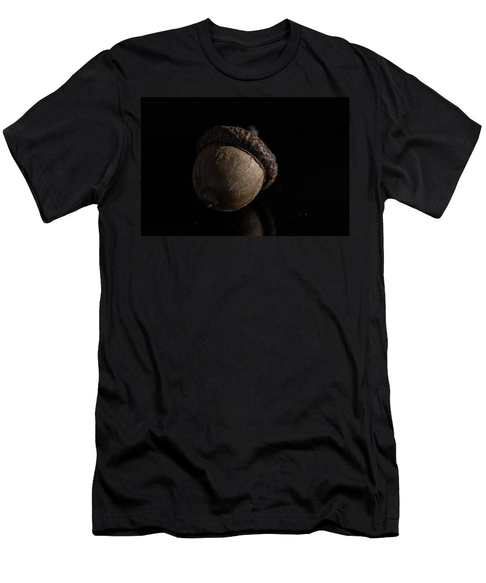 Acorn Men's T-Shirt (Athletic Fit) featuring the photograph In A Nut Shell by Mark Marshall