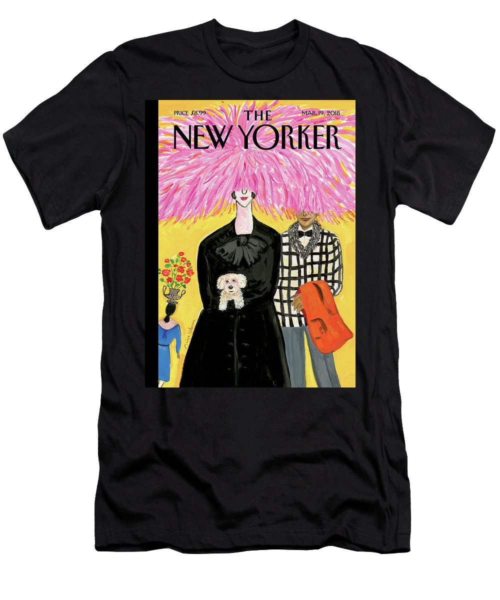 In Full Bloom T-Shirt featuring the painting In Full Bloom by Maira Kalman