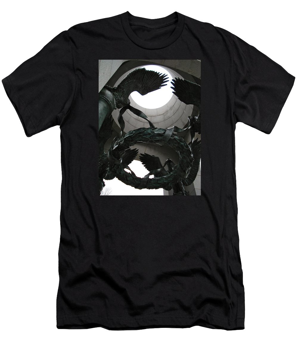 Travel Men's T-Shirt (Athletic Fit) featuring the photograph In Memorial by Nelson F Martinez