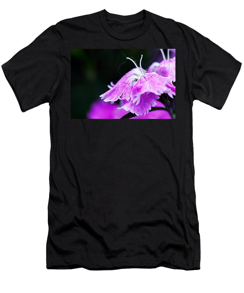 Photography Men's T-Shirt (Athletic Fit) featuring the photograph In The Pink by Larry Ricker