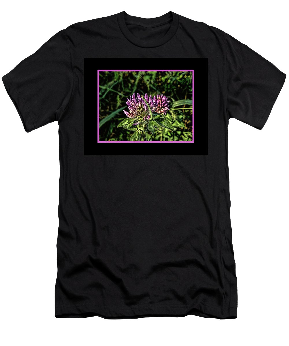 Inchworm Men's T-Shirt (Athletic Fit) featuring the photograph Inchworm by Bob Welch