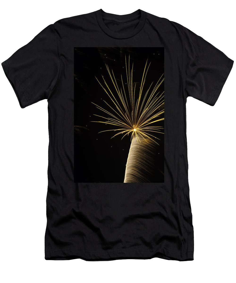 Men's T-Shirt (Athletic Fit) featuring the photograph Independanc I by Michael Nowotny