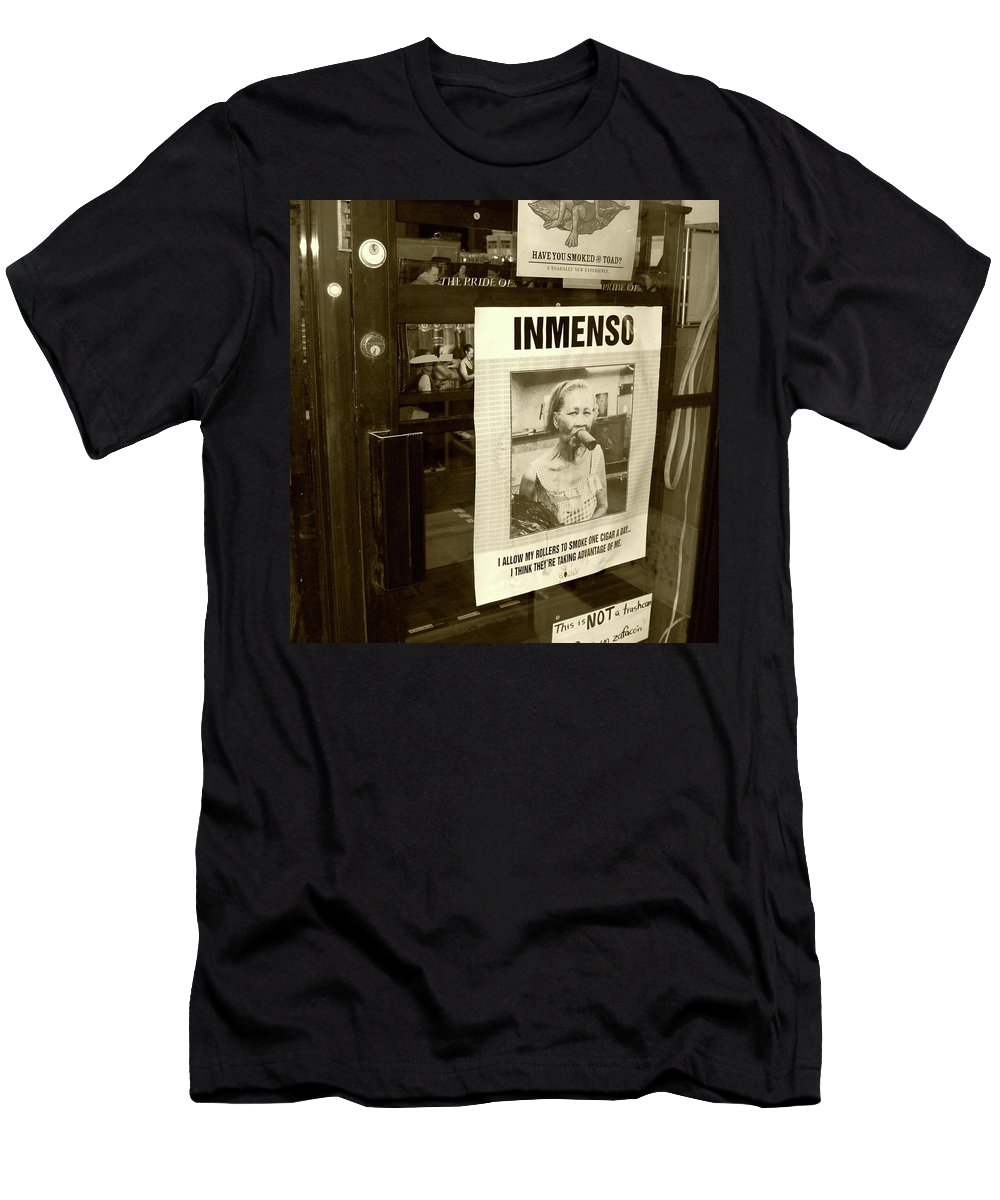 Cigar Men's T-Shirt (Athletic Fit) featuring the photograph Inmenso Cohiba by Debbi Granruth
