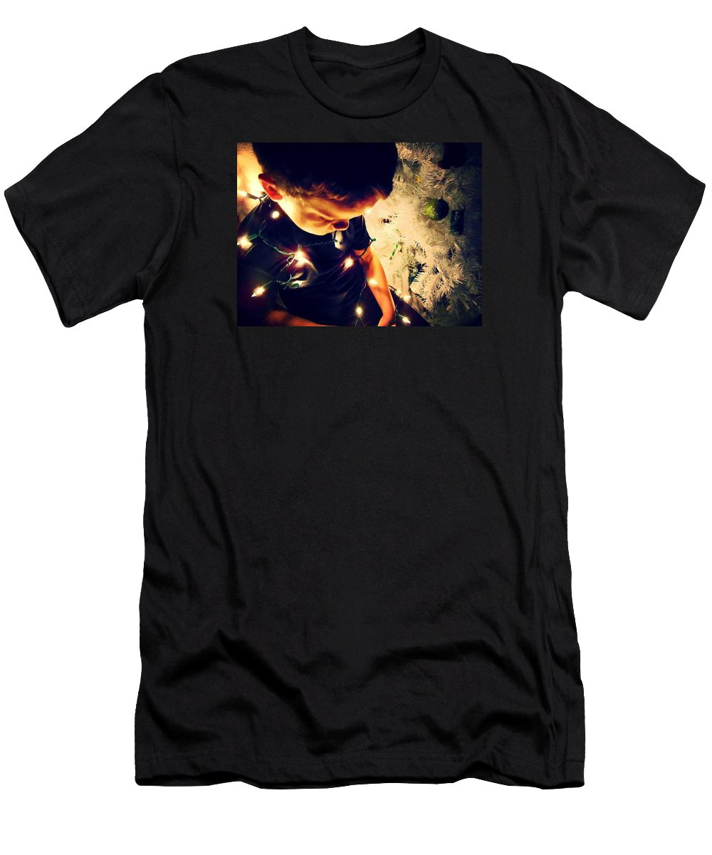 Child Men's T-Shirt (Athletic Fit) featuring the photograph Innocence by Brandi Tye