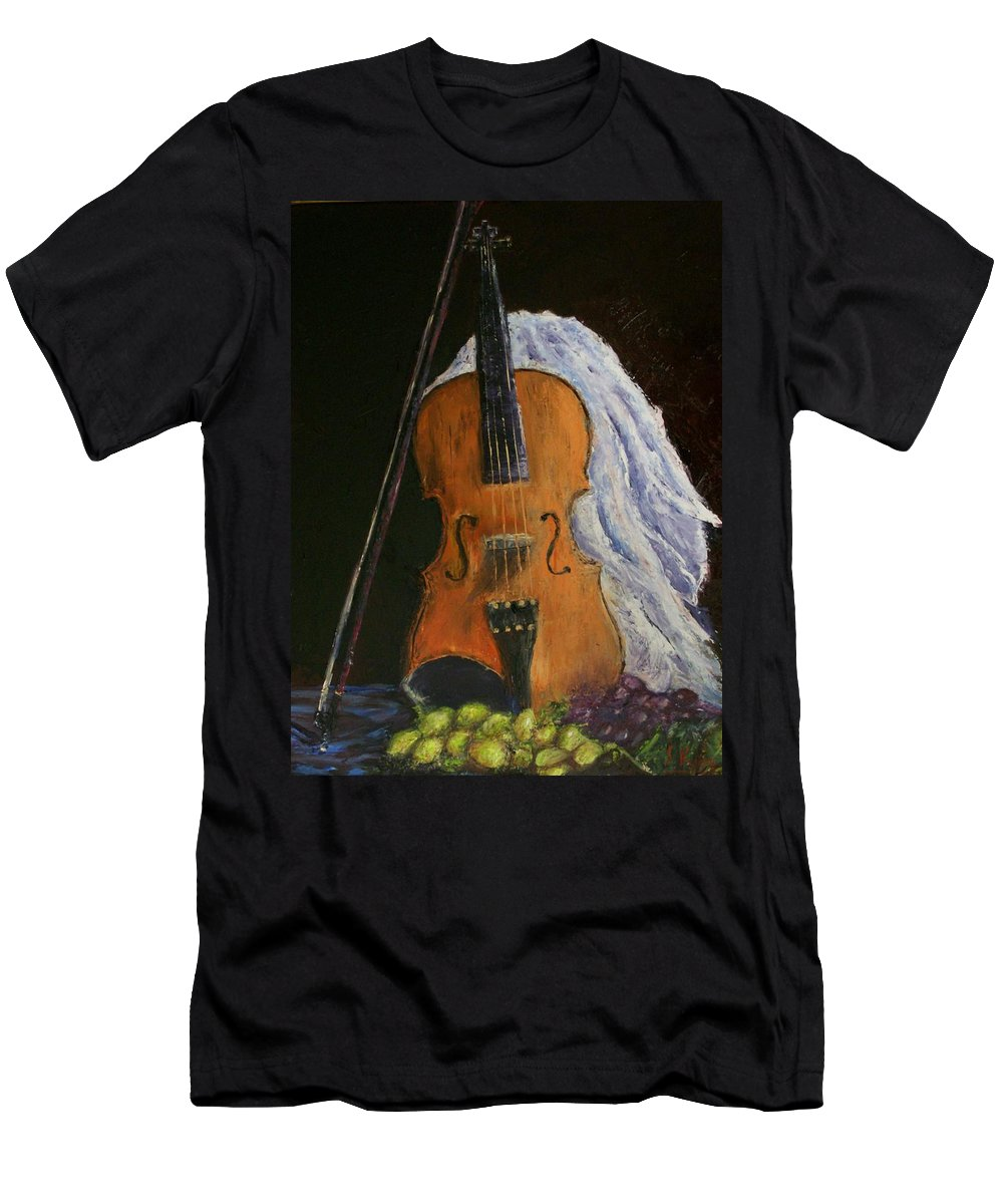 Original Men's T-Shirt (Athletic Fit) featuring the painting Intermission by Stephen King