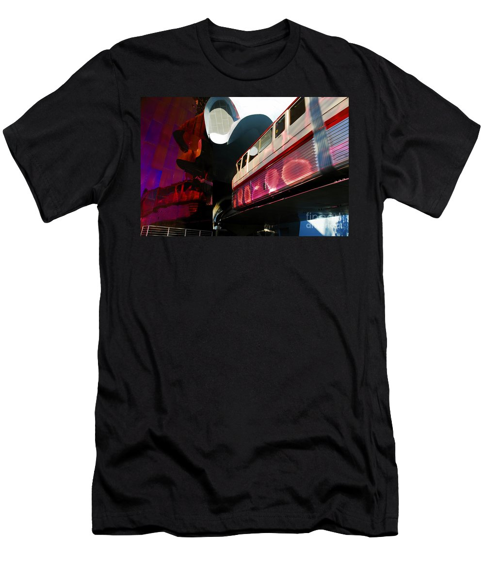 Future Men's T-Shirt (Athletic Fit) featuring the photograph Into The Future by David Lee Thompson