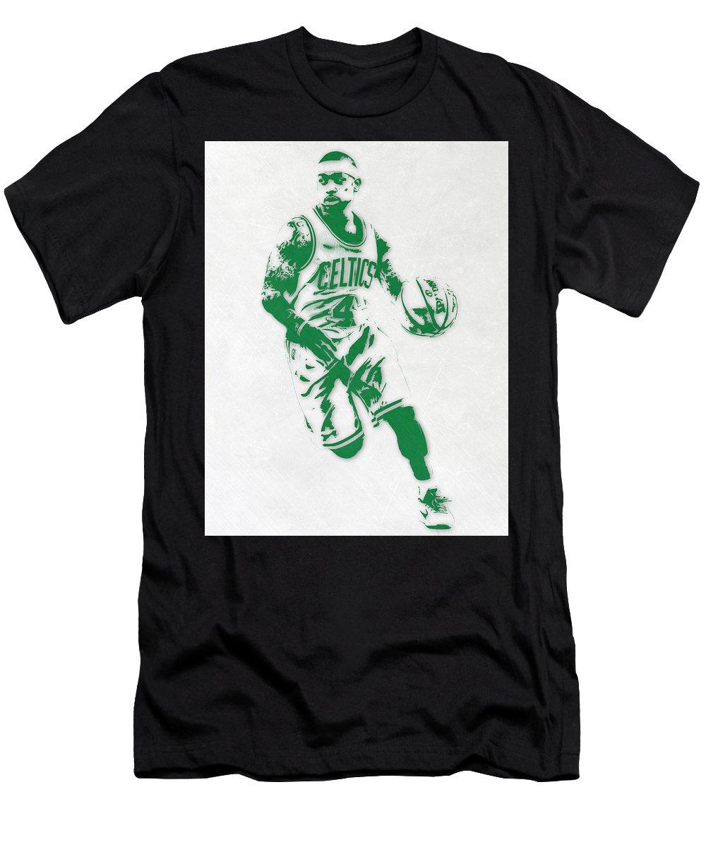 e607d519e4de4 Isaiah Thomas Men s T-Shirt (Athletic Fit) featuring the mixed media Isaiah  Thomas
