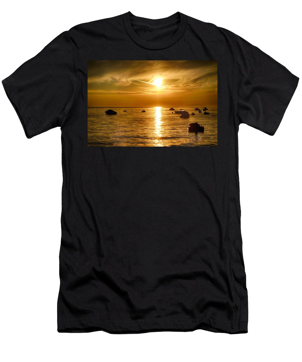 Landscape Men's T-Shirt (Athletic Fit) featuring the photograph Island Life 5 by Marko Raos
