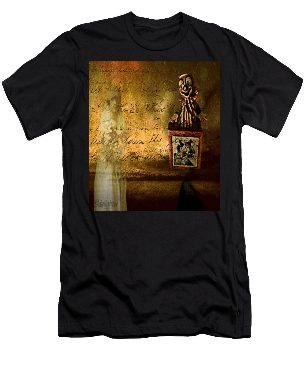 Clown Men's T-Shirt (Athletic Fit) featuring the digital art It Is Not You by Delight Worthyn