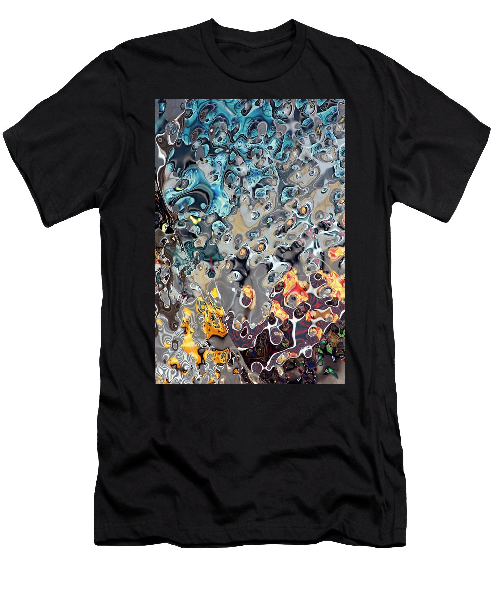 Reflections Men's T-Shirt (Athletic Fit) featuring the photograph It's A Mad, Mad, Mad World by Miroslav Vrzala
