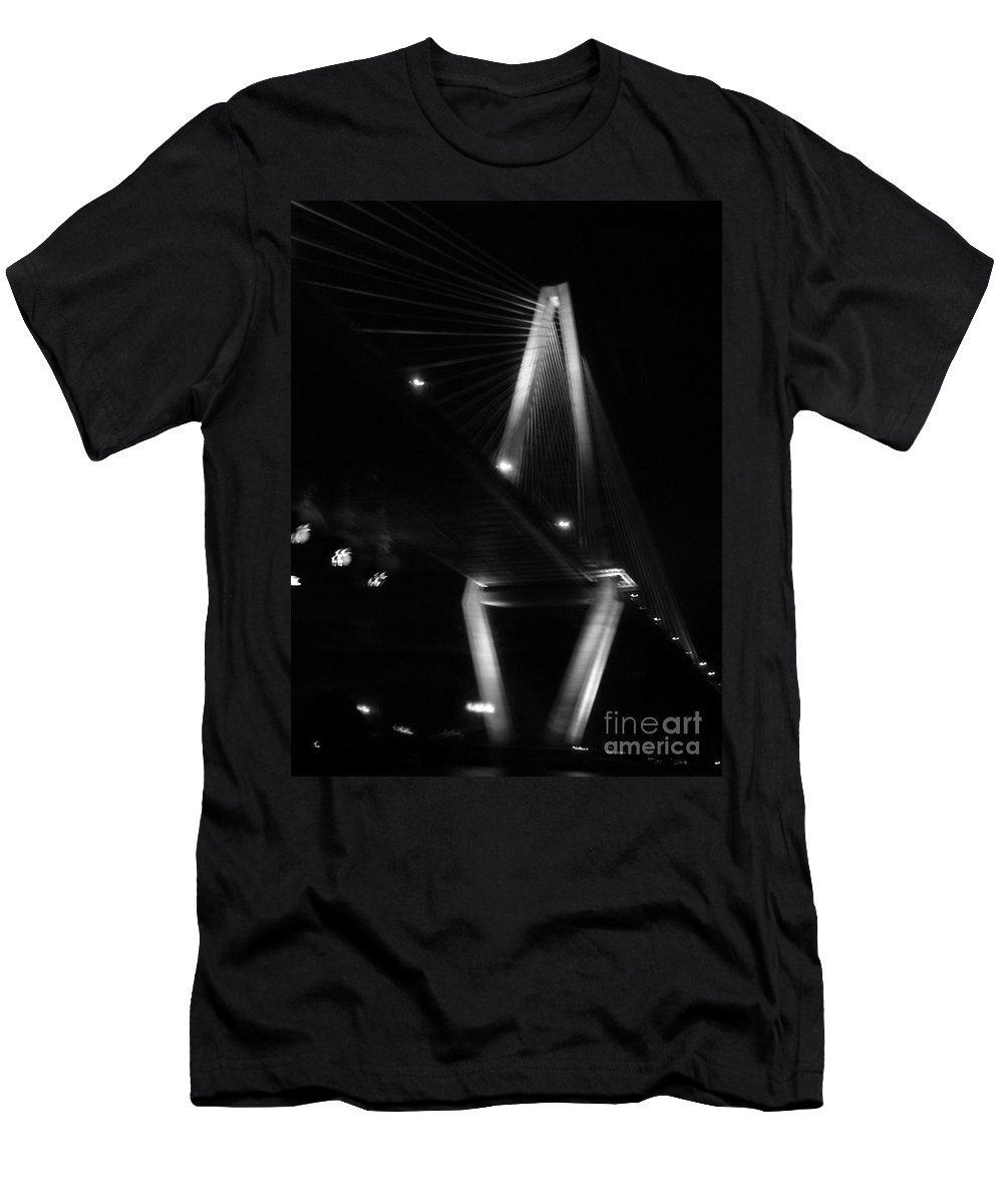 Bridges Men's T-Shirt (Athletic Fit) featuring the photograph Jammin Life by Amanda Barcon