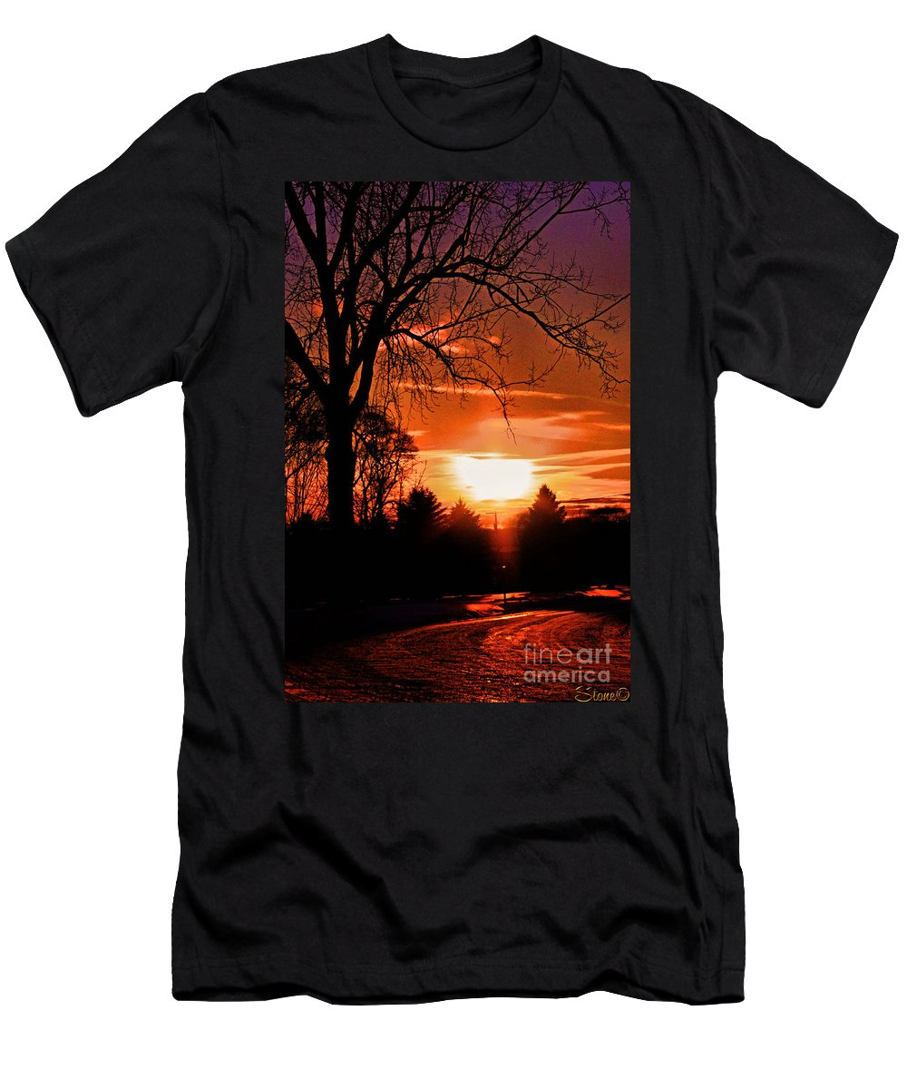 Country Men's T-Shirt (Athletic Fit) featuring the photograph Jazmin by September Stone