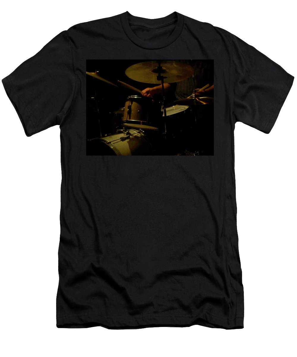 Jazz Men's T-Shirt (Athletic Fit) featuring the photograph Jazz Estate 2 by Anita Burgermeister