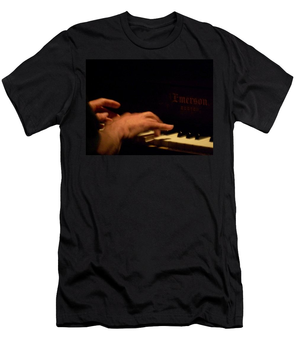 Jazz Men's T-Shirt (Athletic Fit) featuring the photograph Jazz Estate 3 by Anita Burgermeister