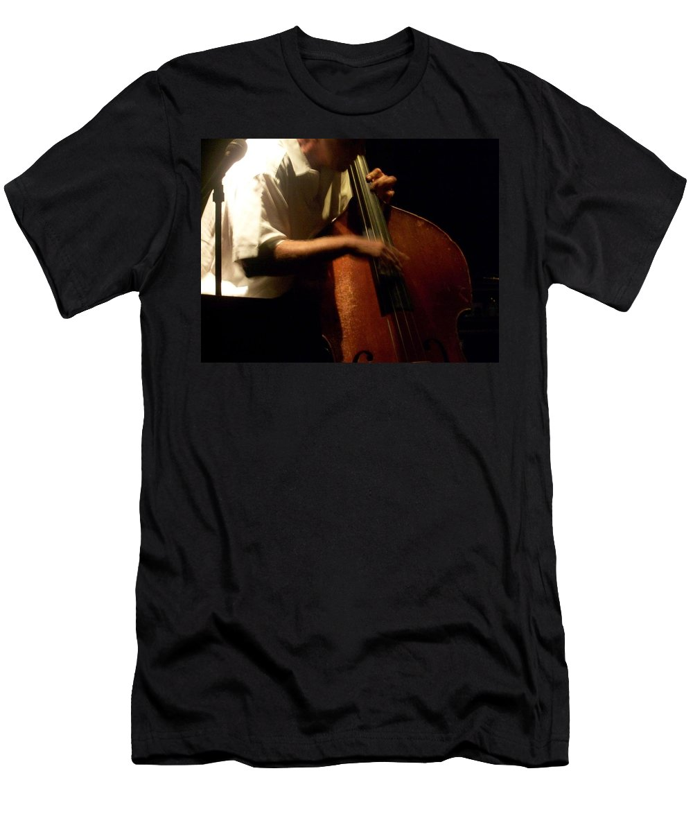 Jazz Men's T-Shirt (Athletic Fit) featuring the photograph Jazz Estate 5 by Anita Burgermeister