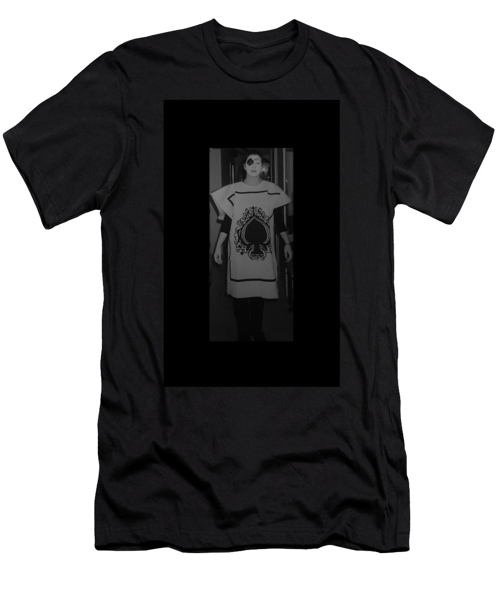 Ace Of Spades Men's T-Shirt (Athletic Fit) featuring the photograph Jen Of Spades by Rob Hans