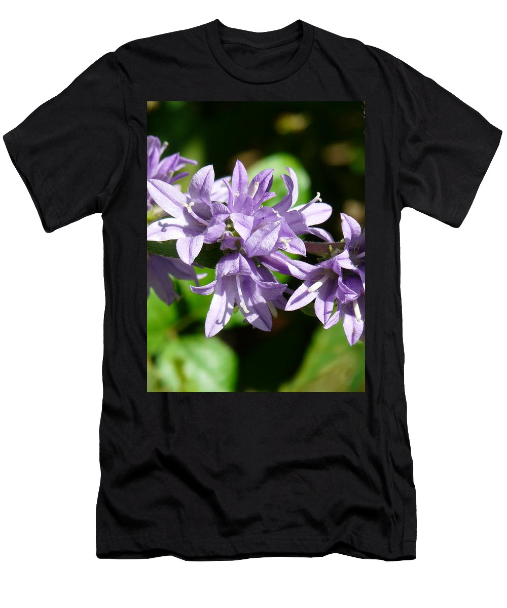 Flower Men's T-Shirt (Athletic Fit) featuring the photograph Jingle Bells by Valerie Ornstein
