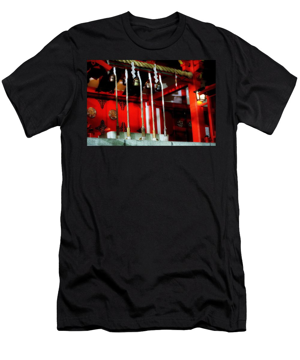 Japan Men's T-Shirt (Athletic Fit) featuring the photograph Jinja 2 by Dante Macwell