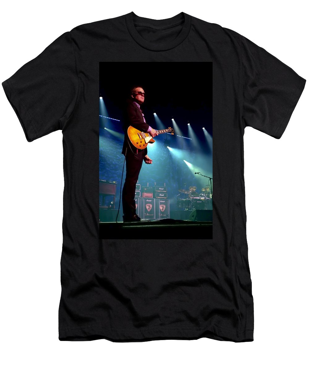Joe Bonamassa T-Shirt featuring the photograph Joe Bonamassa 2 by Peter Chilelli