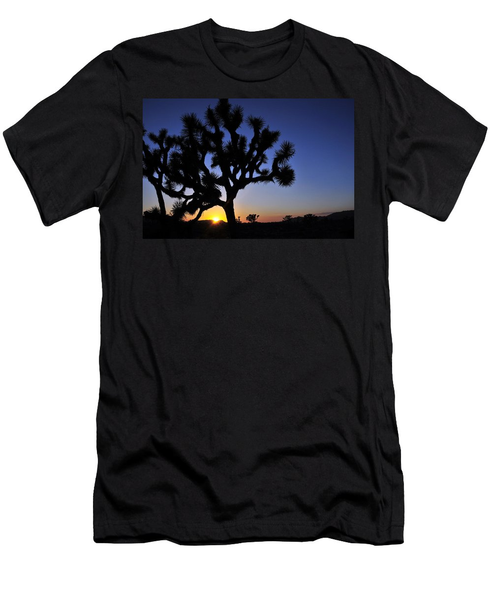 Joshua Men's T-Shirt (Athletic Fit) featuring the photograph Joshua by Skip Hunt