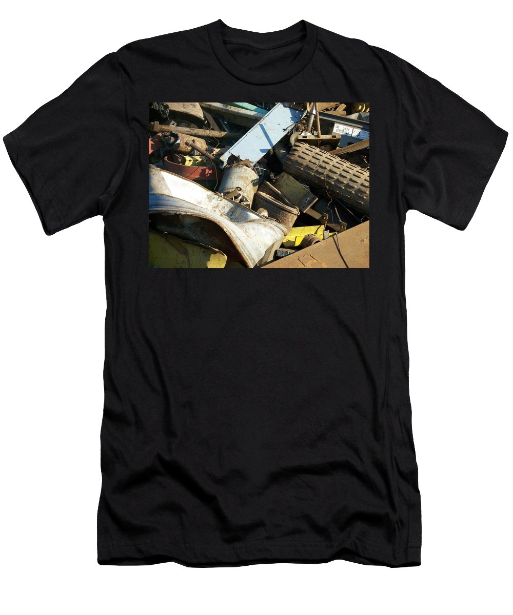 Junk Men's T-Shirt (Athletic Fit) featuring the photograph Junk 8 by Anita Burgermeister