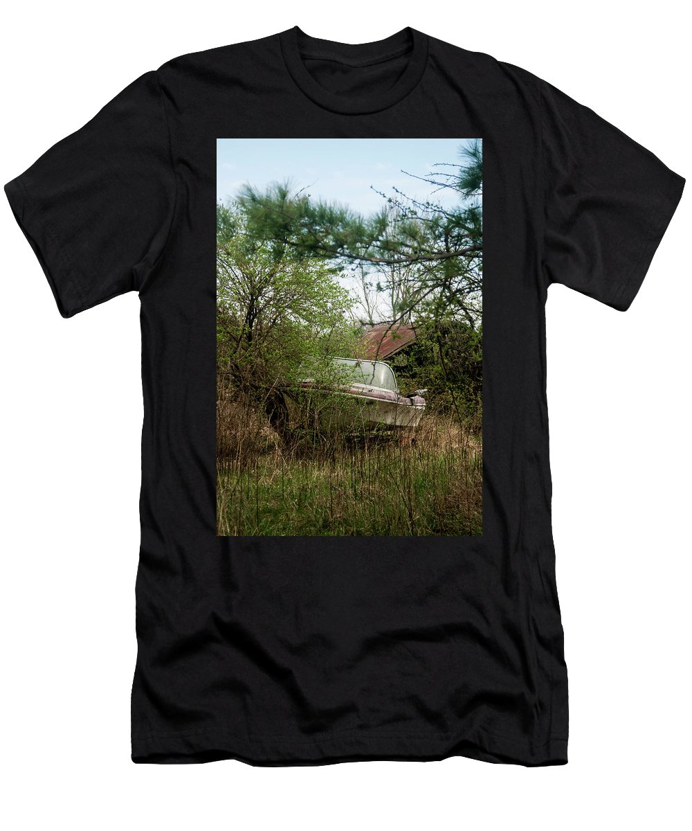 Men's T-Shirt (Athletic Fit) featuring the photograph Just Add Water by Melissa Newcomb