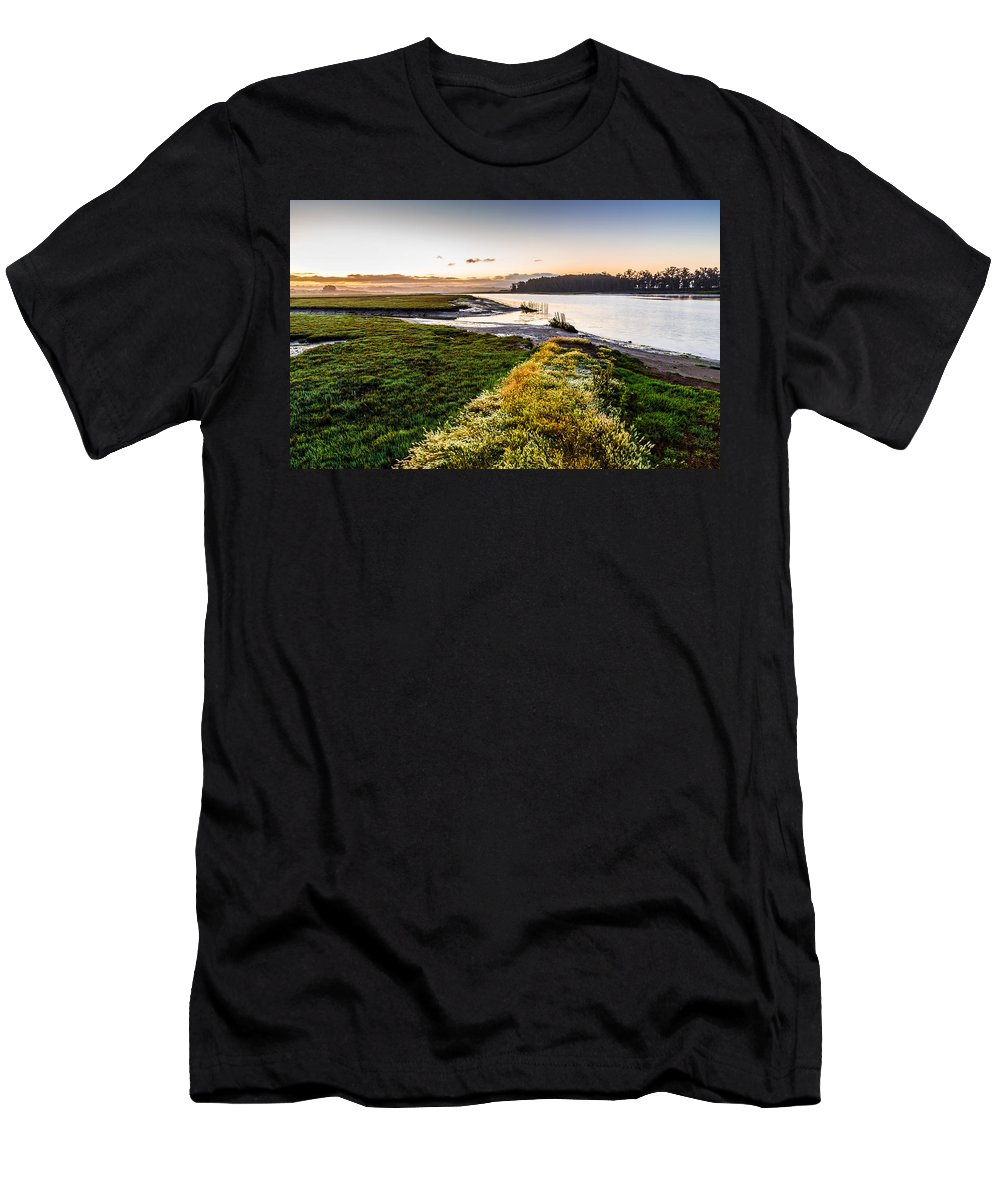 California Men's T-Shirt (Athletic Fit) featuring the photograph Just As It Came To Be by Joe Azevedo