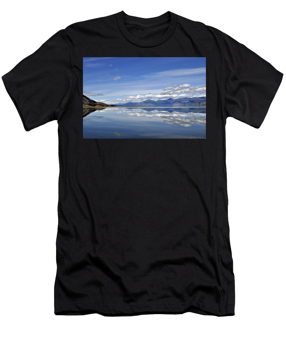 Summer Men's T-Shirt (Athletic Fit) featuring the photograph Kluane Summer by Cathy Mahnke