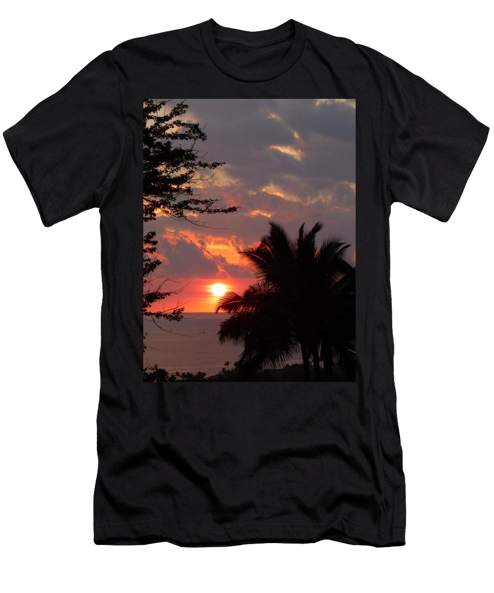 Landscape Men's T-Shirt (Athletic Fit) featuring the photograph Kona by Lisa Spero