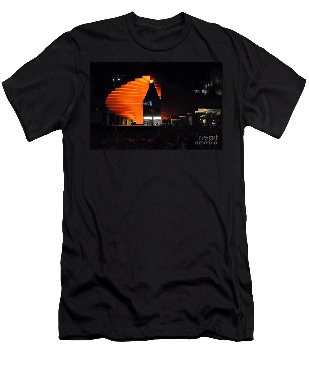 Clay Men's T-Shirt (Athletic Fit) featuring the photograph L.a. Nights by Clayton Bruster