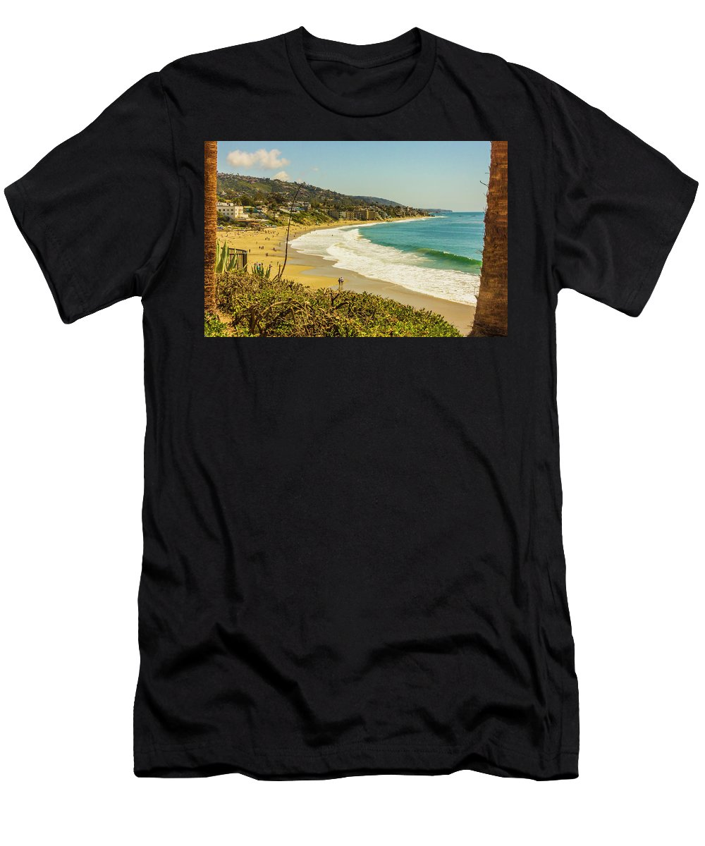2011 Men's T-Shirt (Athletic Fit) featuring the digital art Laguna View by Amer Khwaja