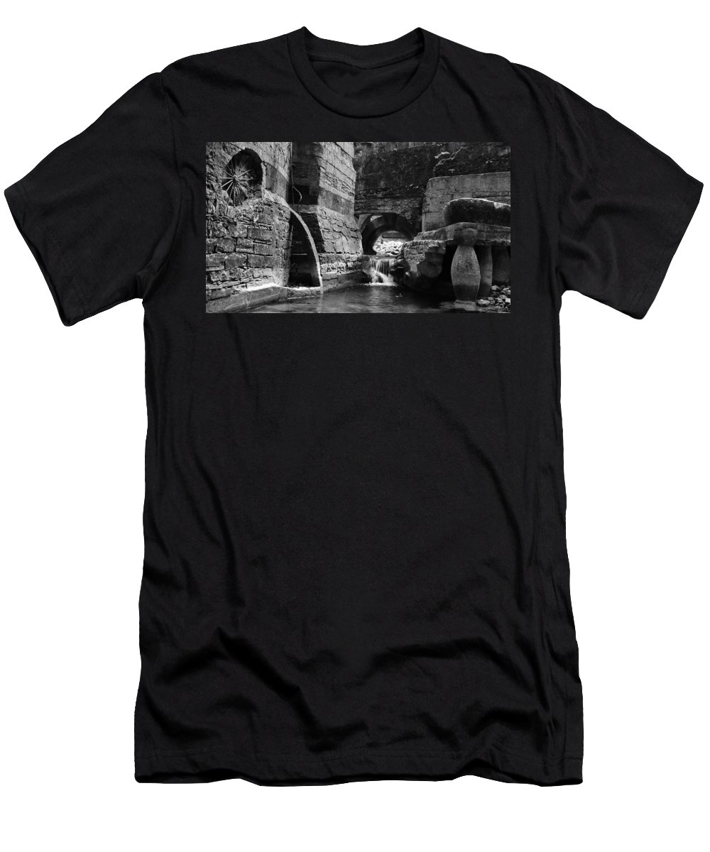 Skip Hunt Men's T-Shirt (Athletic Fit) featuring the photograph Las Pozas 1 by Skip Hunt